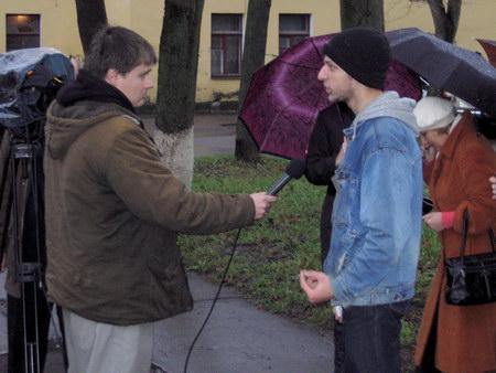 """Организатор пикета активист """"Другой России"""" Иван Васильев"""