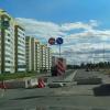 Дорожные знаки на строящемся участке ул.Инжереной зачехлят